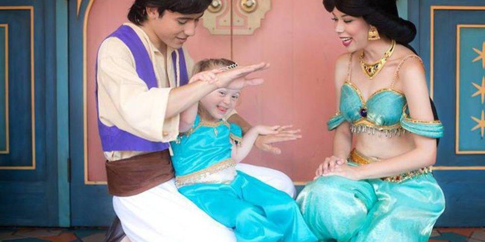 Giselle bei Aladdin und Jasmin