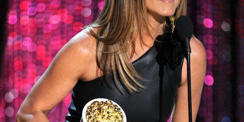 Jennifer Aniston lässt am Set die Diva raushängen
