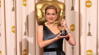 Kate Winslet freut sich über ihren Oscar