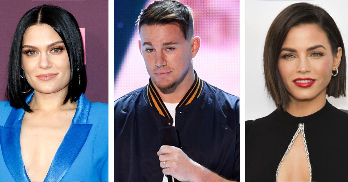 Sängerin Jessie J, Channing Tatum und seine Exfrau Jenna Dewan