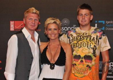 Stefan Effenberg, Claudia Effenberg und Sohn Noel-Etienne