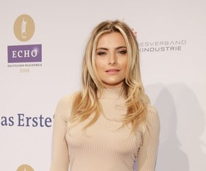 Sophia Thomalla ECHO 2016 im Palais am Funkturm in Berlin am 07.04.2016  Foto: BVMI / Markus Nass