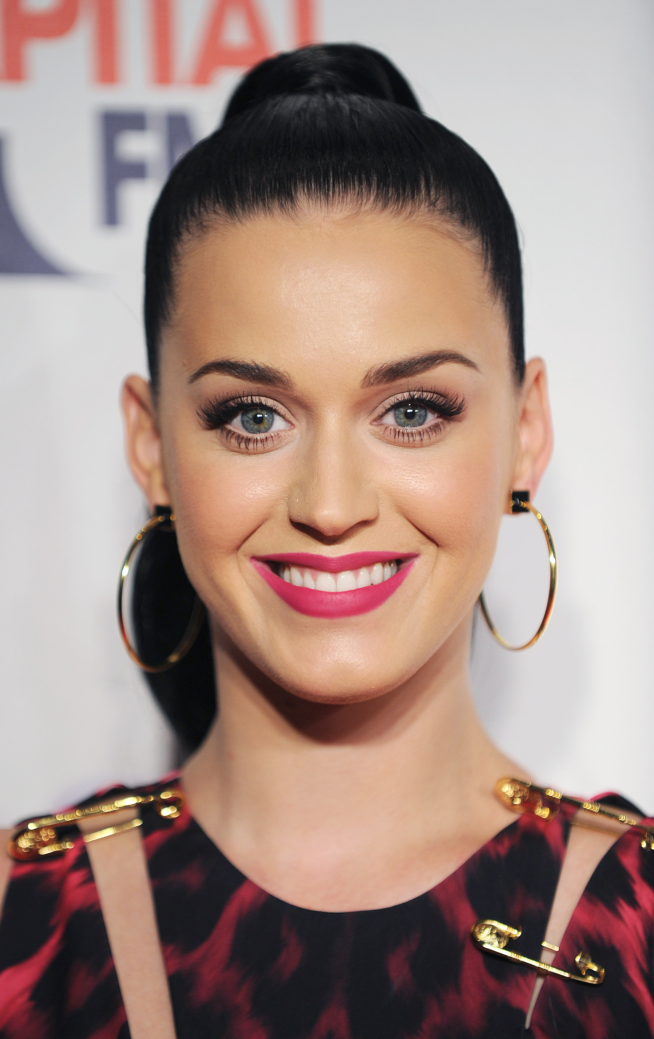 LONDON, UNITED KINGDOM - DECEMBER 07: Katy Perry attends on day 1 of the Capital FM Jingle Bell Ball at 02 Arena on December 7, 2013 in London, England. (Photo by Stuart C. Wilson/Getty Images)