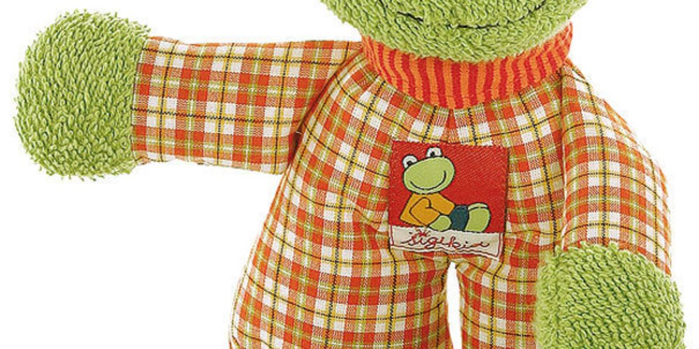 Flip Flap Frog Schlummerfigur