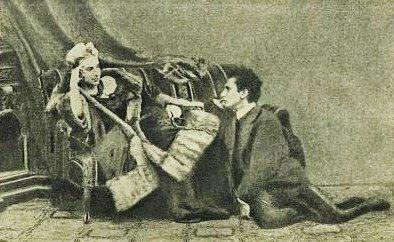 Leopold von Sacher-Masoch mit Fannie Pistor Bagdanow