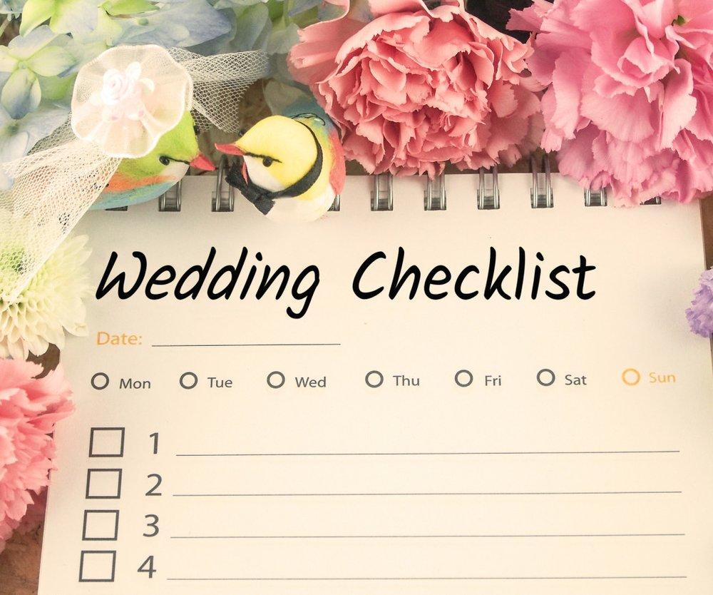 Hochzeit planen mit Checkliste