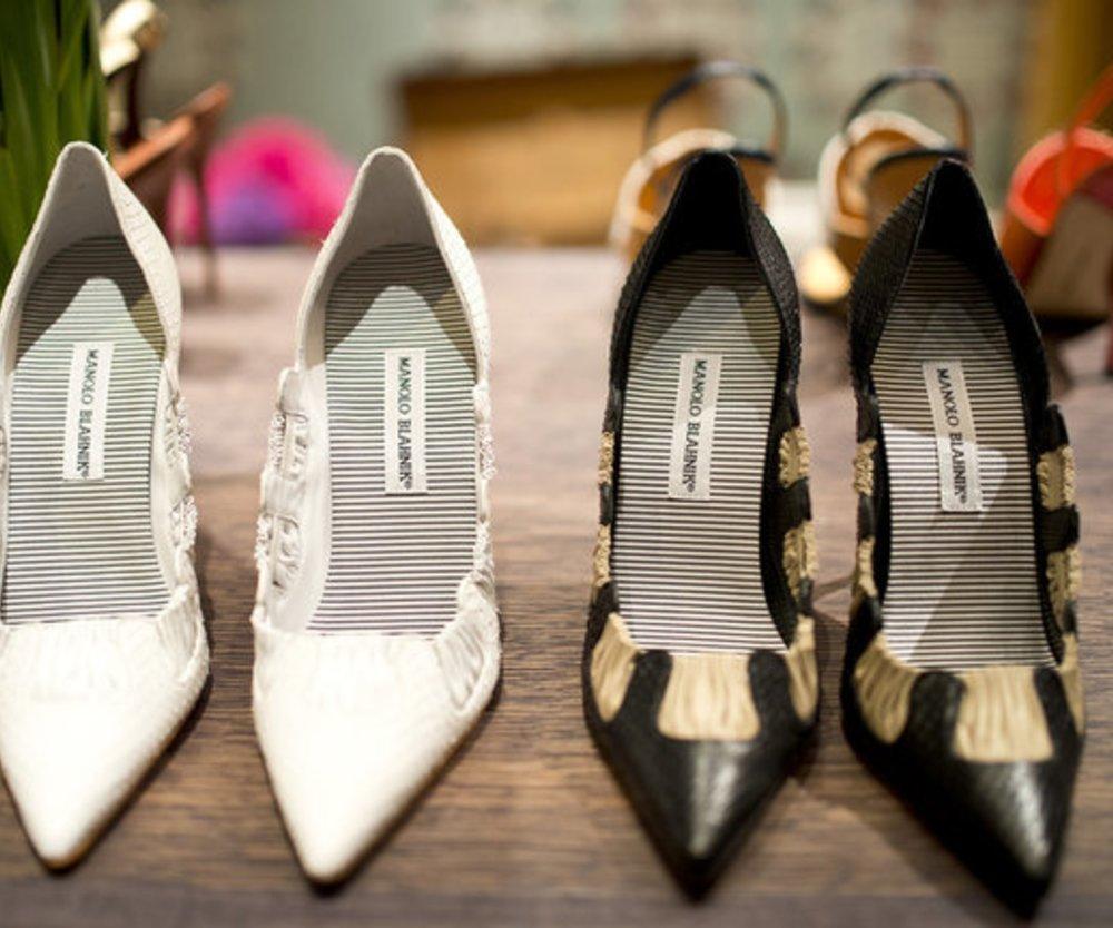 Schuhe von Manolo Blahnik