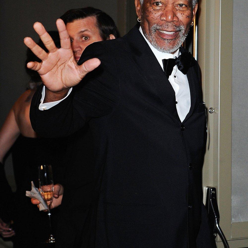 Morgan Freeman und seine Stiefenkelin sind nicht zusammen