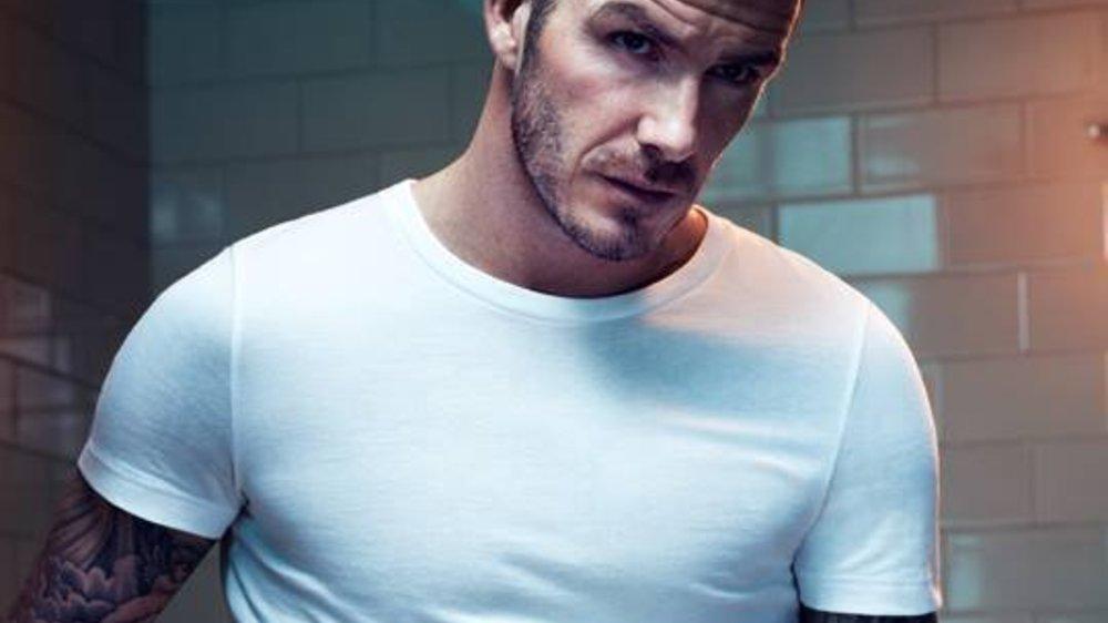 David Beckham: Sexy für H&M