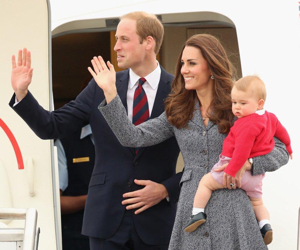 So feierte Prinz George Weihnachten
