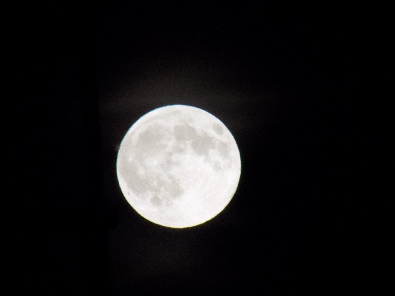 Dunkel war's der Mond schien helle
