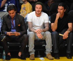 David Beckham als Stilberater?
