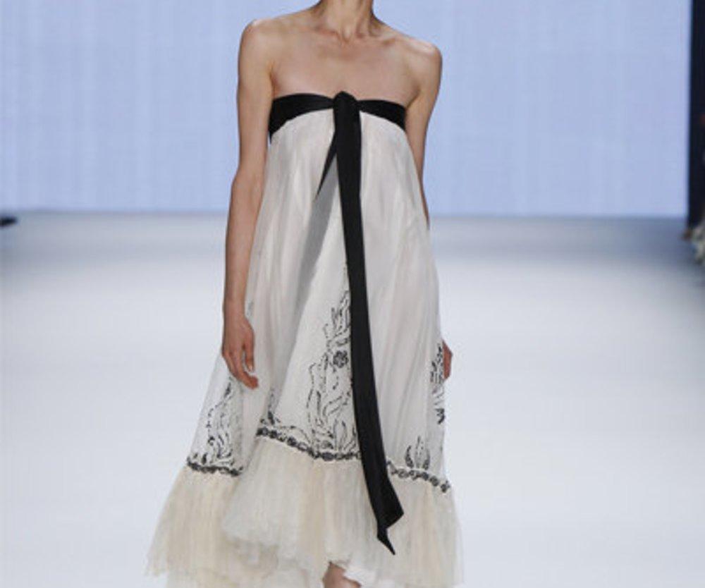 Guido Maria Kretschmer: Weißes Abendkleid