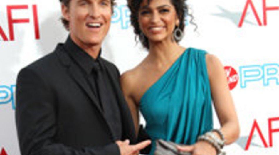Matthew McConaughey: Seine Freundin Camila Alves ist überglücklich!