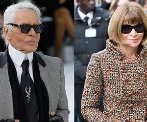 Karl Lagerfeld und Anna Wintour