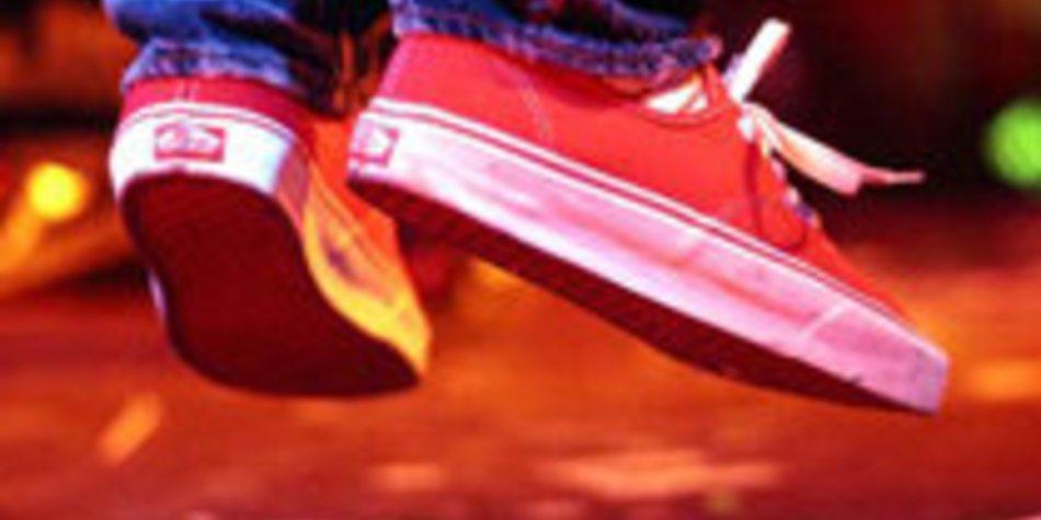 Auf den Schuh gekommen