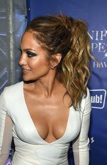 Jennifer Lopez: High Ponytail