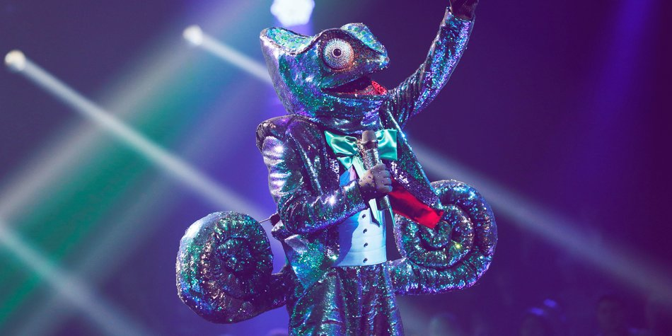 """The Masked Singer"" Chamäleon: Alle Hinweise & Enthüllung"
