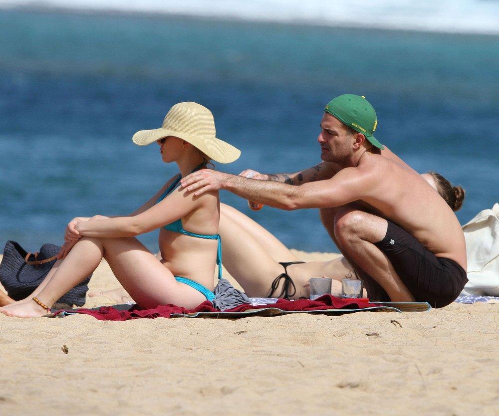 Scarlett Johansson im Liebesurlaub