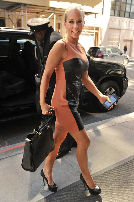 Kendra Wilkinson in New York