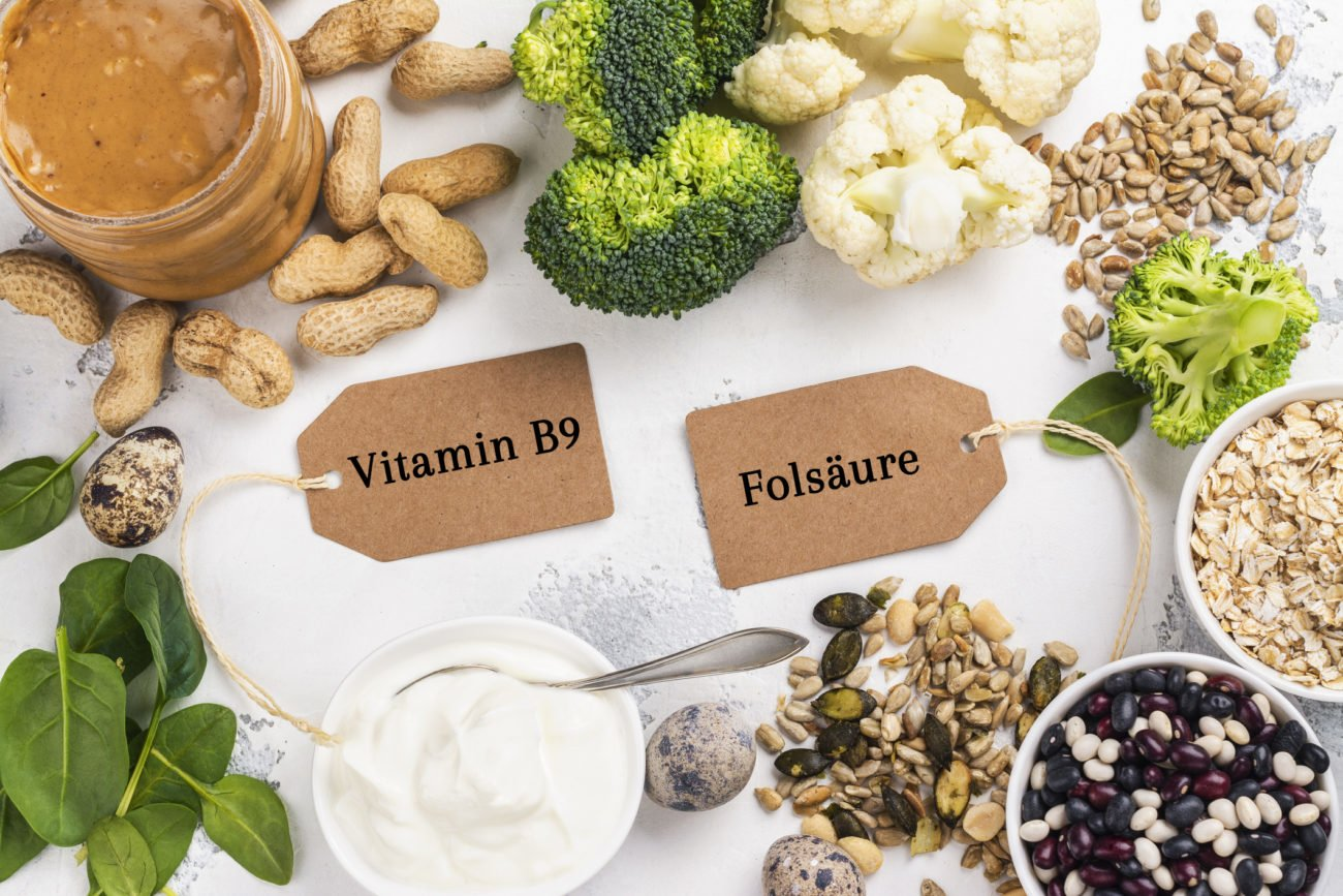 Folsäurehaltige Lebensmittel