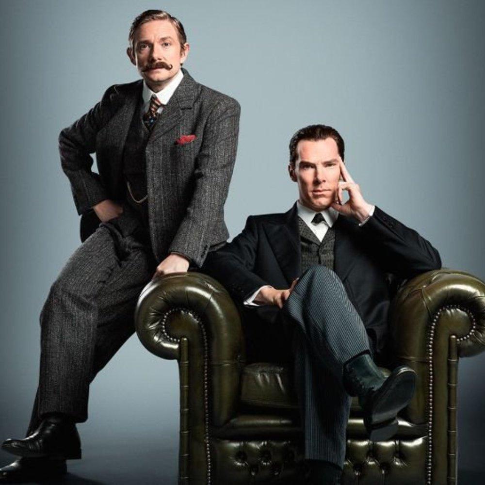 "Benedict Cumberbatch: So sieht er im neuen ""Sherlock""-TV-Special aus"