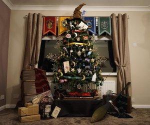harry potter weihnachtsbaum