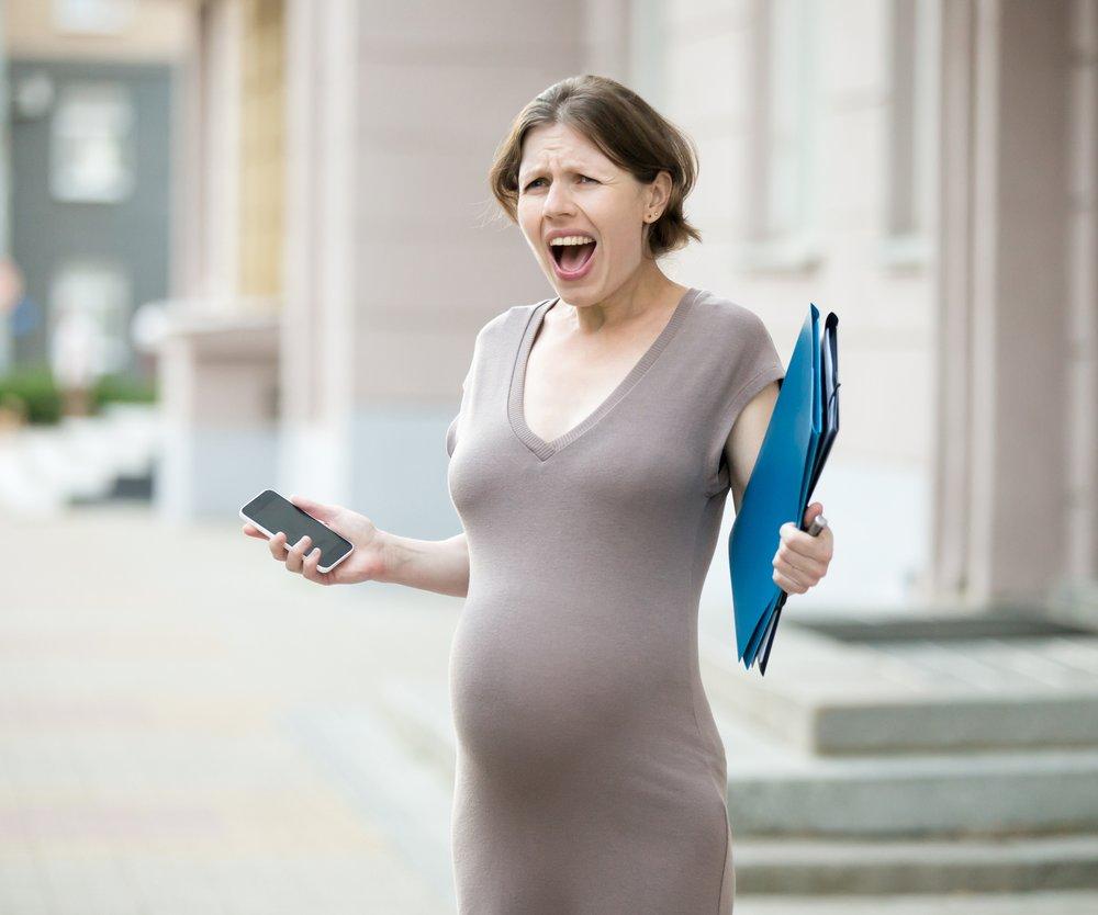Blöde Sprüche über Schwangere