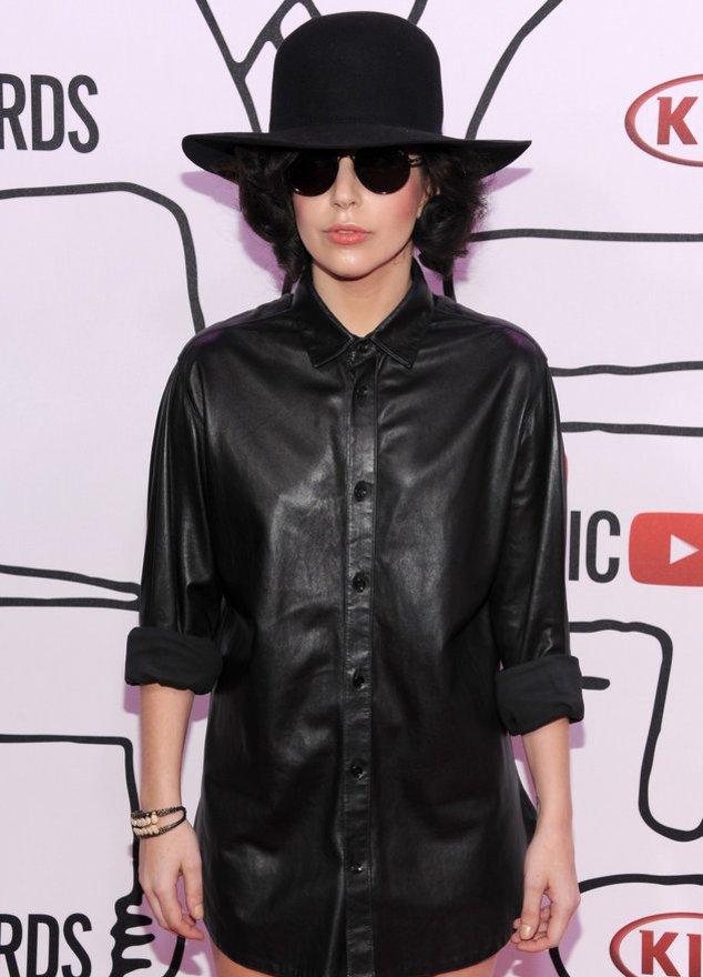 Lady Gaga bei einem Event