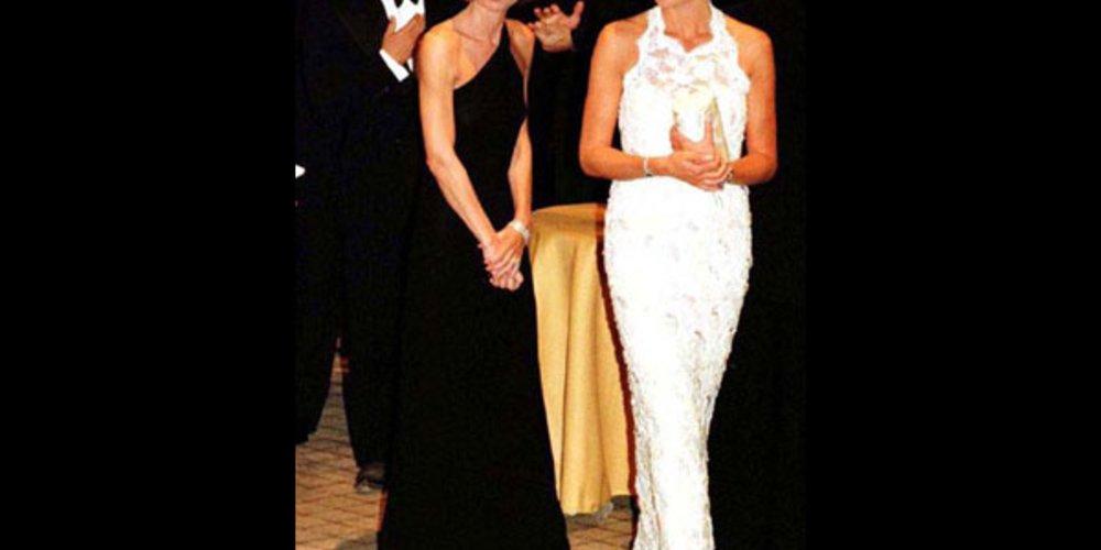 Lady Diana mit Anna Wintour und Ralph Lauren