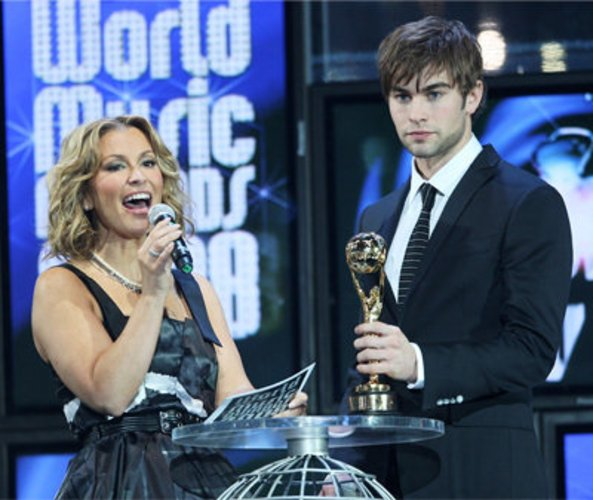 Chace Crawford und Anastacia