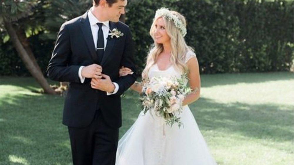 Ashley Tisdale hat ihren Christopher geheiratet