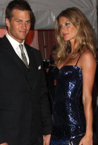 Gisele Bündchen und Tom Brady auf der MET Costume Gala in New York