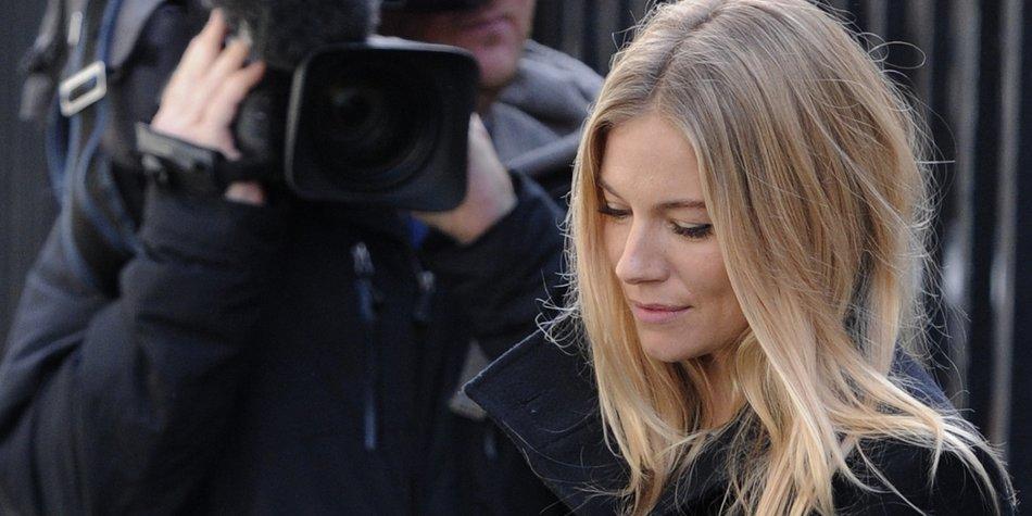 Sienna Miller sagt vor Gericht aus