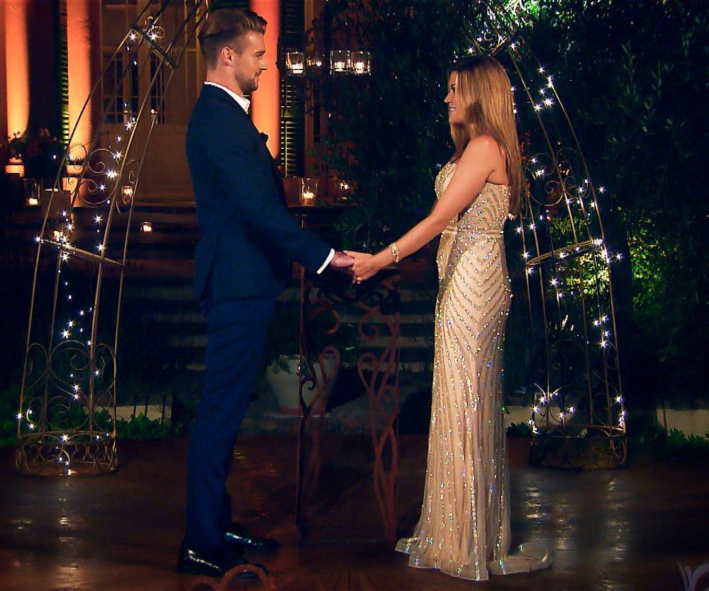 Nadine hat Alex etwas zu sagen. Konnte er ihr Herz erobern und wird Nadine ihm die letzte Rose überreichen?