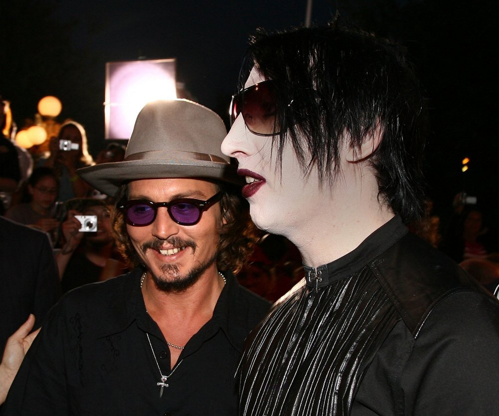 Johnny Depp und Marilyn Manson nehmen Klassiker auf