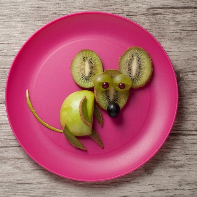 Obst für Kinder zubereiten