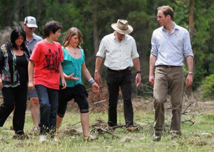 Prinz William unterstützt soziale Projekte
