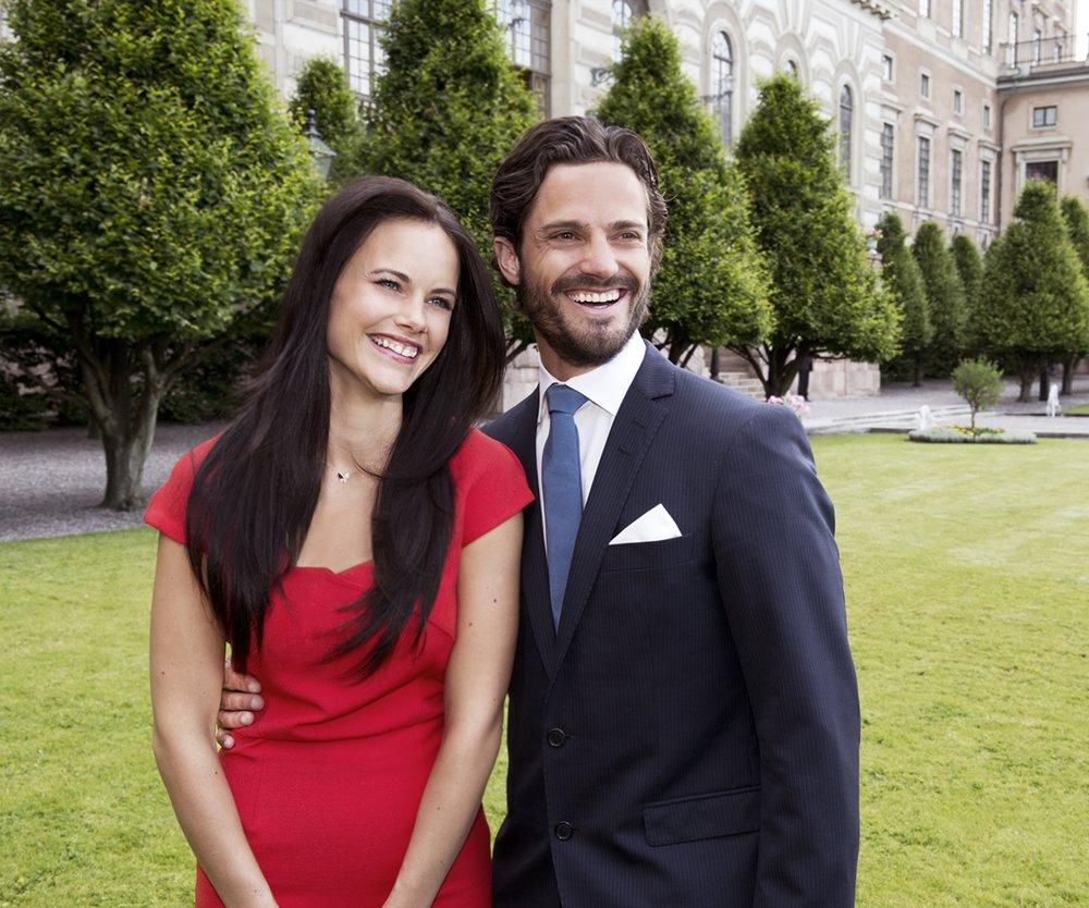Carl Philip von Schweden versendet Verlobungsgrüße