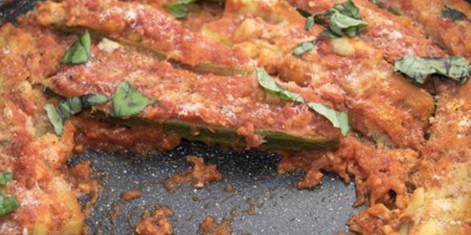 Zucchini Auflauf vegan