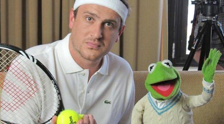 Jason Segel und Kermit