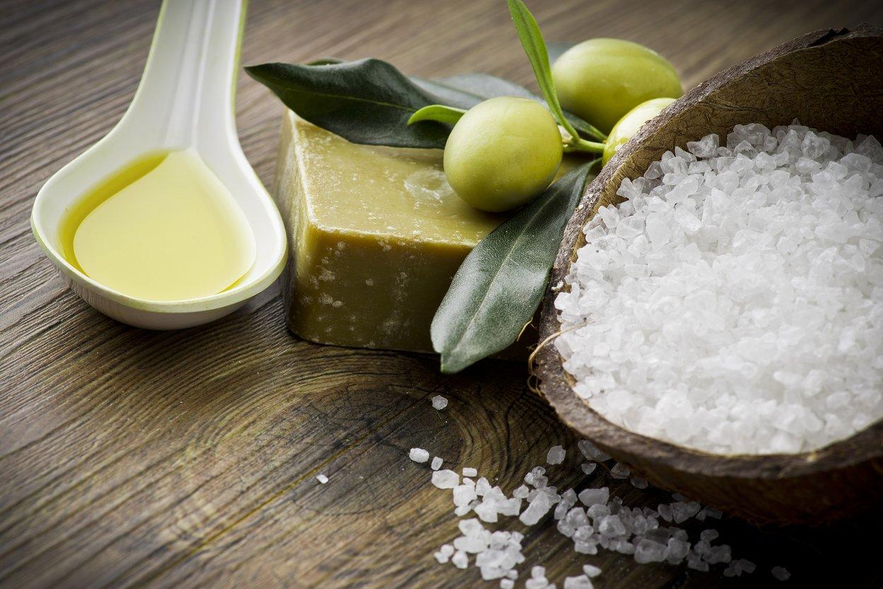Seife selber machen mit Olivenöl