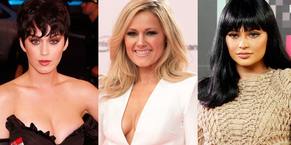 Katy Perry, Helene Fischer, Kylie Jenner