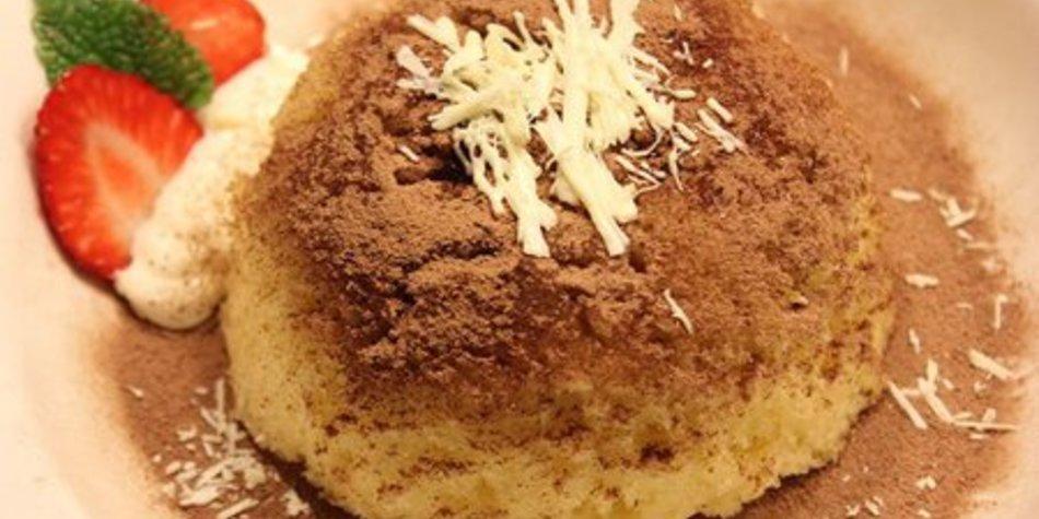 Bounty-Tassenkuchen für die Mikrowelle