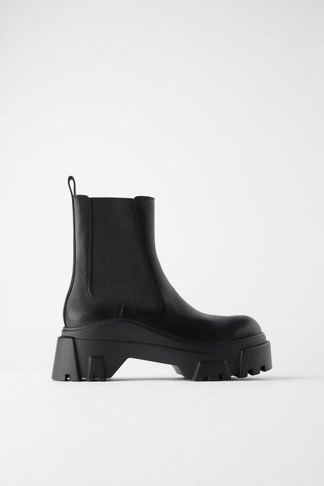 Diese Zara-Boots sehen aus wie Designerstücke