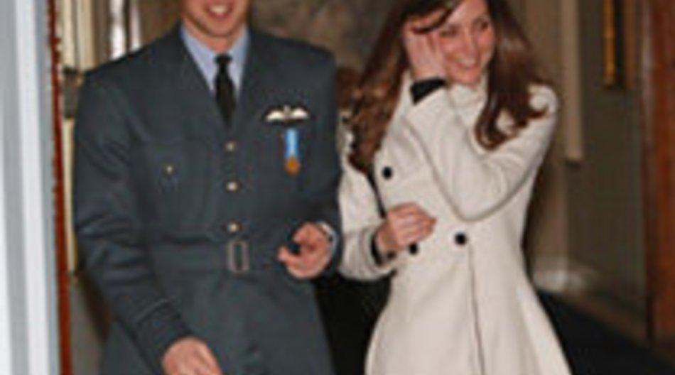 Prinz William und Kate Middleton stecken in Hochzeitsvorbereitungen