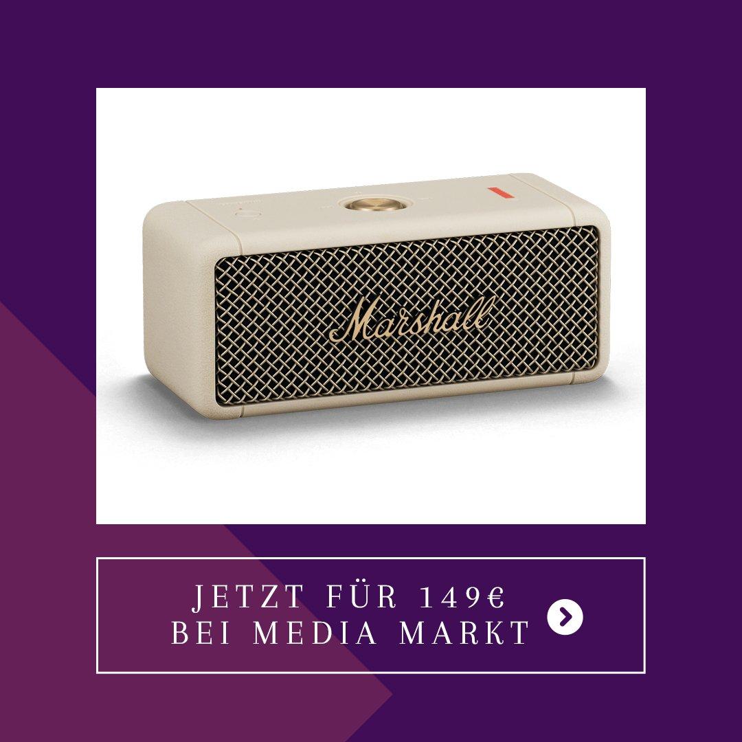 masrshall bluetooth speaker