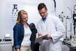 Brille auf Rezept beim Augenarzt
