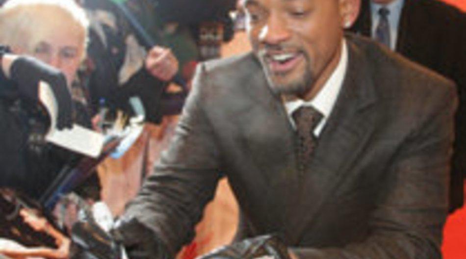 Will Smith zur Premiere in Berlin