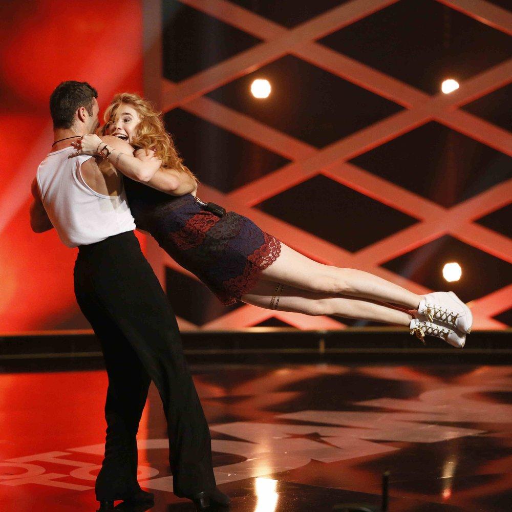 Got to Dance: Palina Rojinski wird über die Bühne gewirbelt